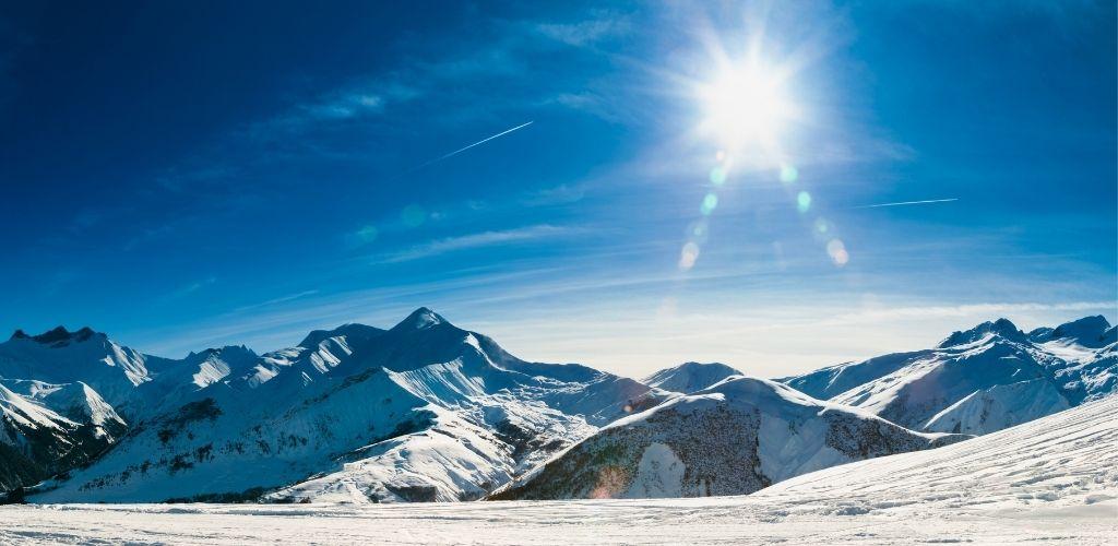 Urlaub Alpen Deutschland Sonnenschein