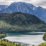 Urlaub in den Alpen am See Header